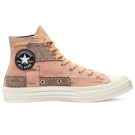 Converse Patchwork Chuck 70 HI sneakers - PEACH/SHEER LILAC/EGRET