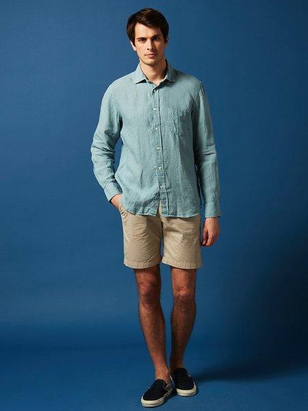 Hartford Paul Linen Shirt - Oyster