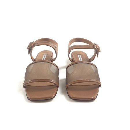 About Arianne Marini Mesh Sandals - Cattail