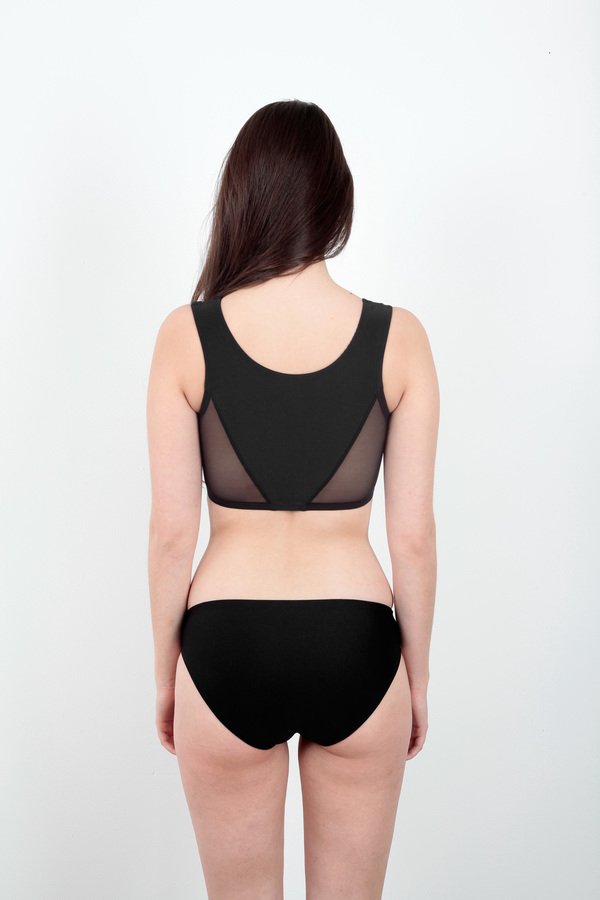 Minnow Bathers Avaya Black Bottoms