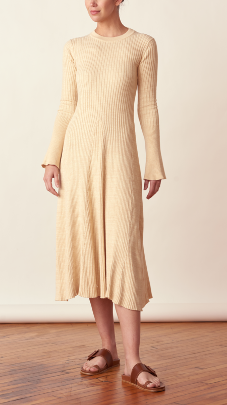 Anna Quan Isla Dress - Wheat