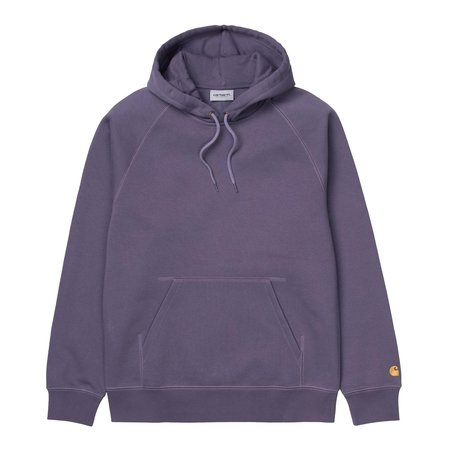 CARHARTT WIP HOODED CHASE SWEATER - PROVENCE