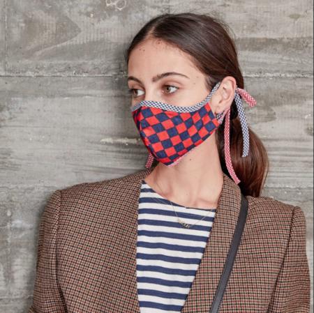 Clare V. Bisous Face Masks