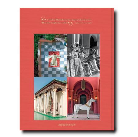 """Assouline """"Marrakech Flaire"""" by Marisa Berenson book"""