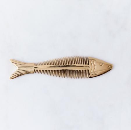 Siren Song Oceanic Comb - Brass