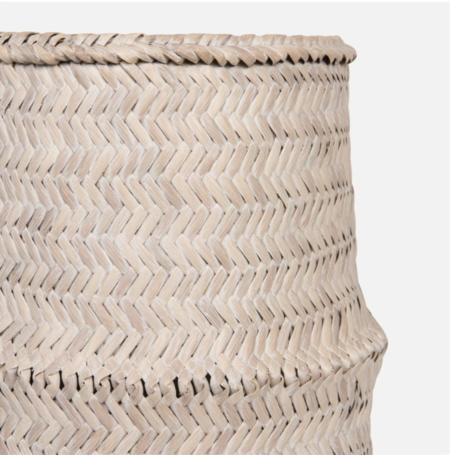 Madegoods Salma Basket - Whitewash
