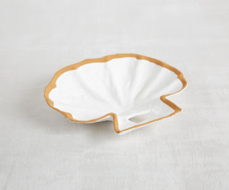 Siren Song Shell Tray - White/Yellow