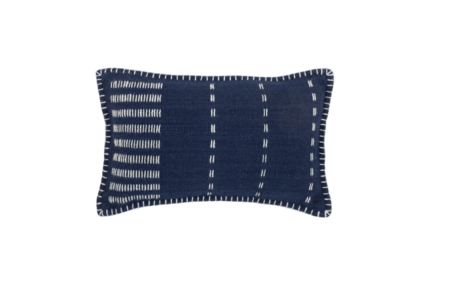 Divine Home Stitches Woven Outdoor Pillow