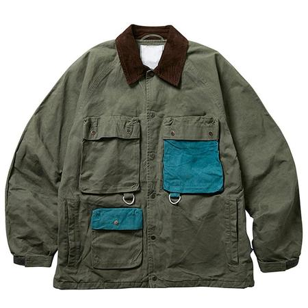 Liberaiders Canvas Hunting Jacket - Olive