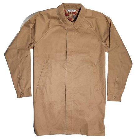3Sixteen Mac Coat - Sand