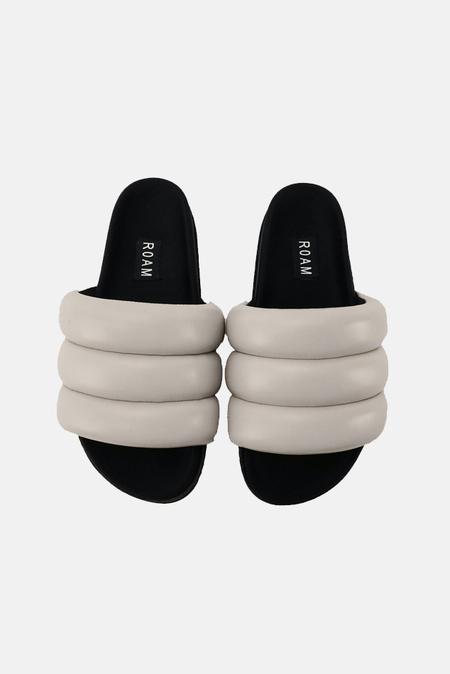 ROAM Super Puff Slide Shoes - Light Grey