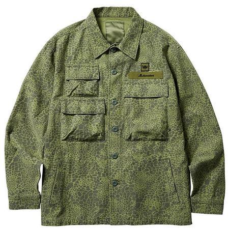 Liberaiders Multi Pocket Field Jacket - Olive Camo