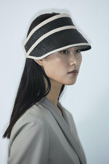 Janessa Leone Constance hat - Black