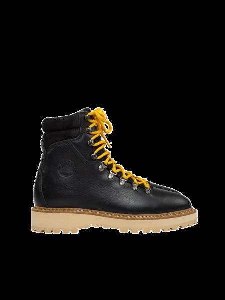 Unisex Diemme Monfumo Leather Boot - Black