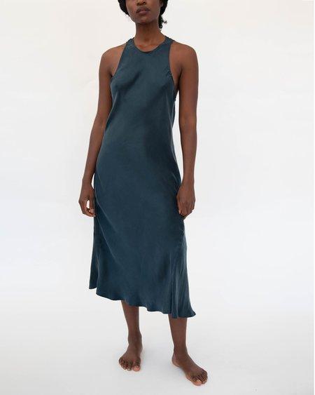 Sunday Morning Gia Sandwashed Cupro Vegan Silk Sleep Dress