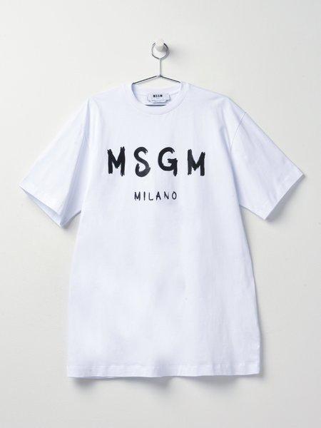 MSGM ABITO/DRESS - WHITE 01