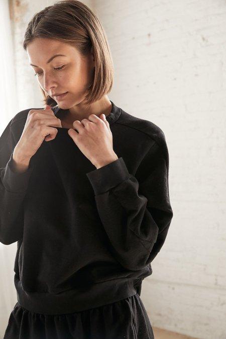 Wol Hide Easy Summer Sweatshirt - Black
