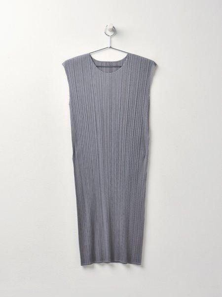 Pleats Please by Issey Miyake Basic Dress - Gray
