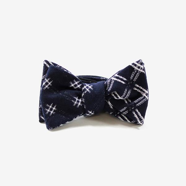 Kiriko - Kasuri Ori Bow Tie
