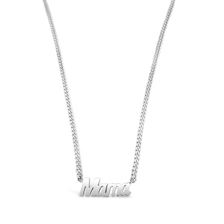 Sierra Winter Jewelry Big Mama Necklace - Sterling Silver