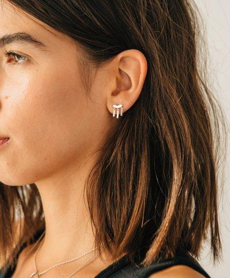 Sierra Winter Jewelry Daydreamer Earrings - Gold Vermeil