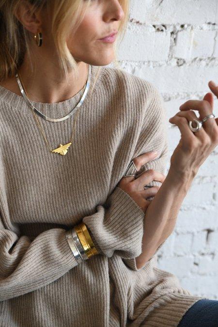 Sierra Winter Jewelry Freebird Necklace - Gold Vermeil