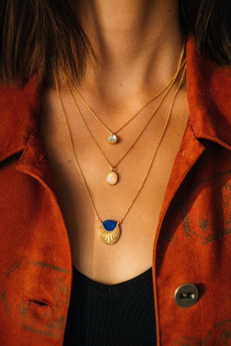 Sierra Winter Jewelry Primrose Diamond Necklace - 14K Gold