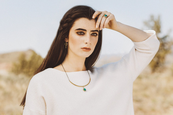 Claire Green Jewelry Solar Earrings