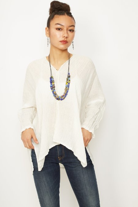 PAS DE CALAIS 6131 Blouse - white