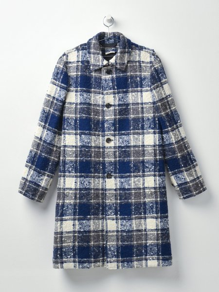 MARNI OVERCHECK BOUCLE FLANNEL jacket - TRUFFLE CHECK