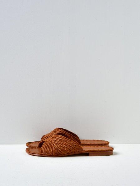 Carrie Forbes Salon Sandals - Cognac