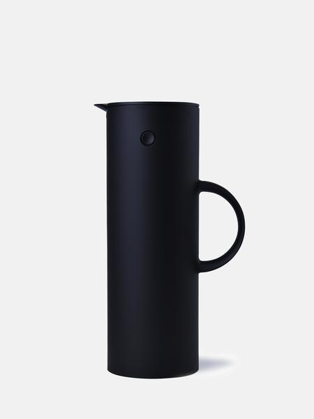 Stelton 33.8 oz Vacuum Jug - Soft Black
