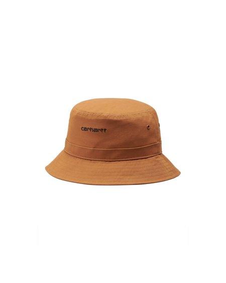 CARHARTT WIP Gorro Script Bucket Hat - Rum/Black