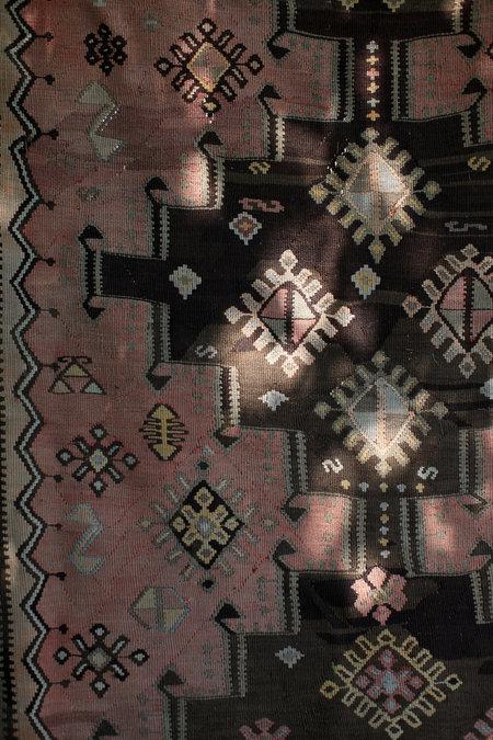 Vintage Turkish Kilim rug - multi