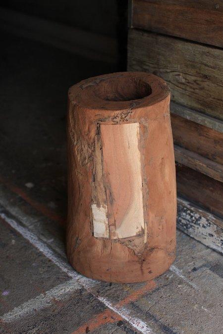 Vintage Indian Wood Pot