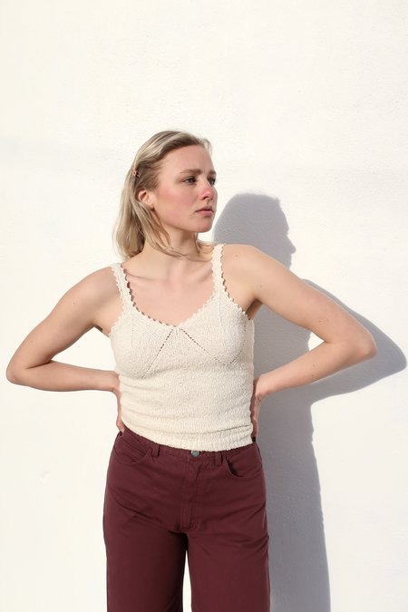 Rachel Comey New Getty Cami top - Natural