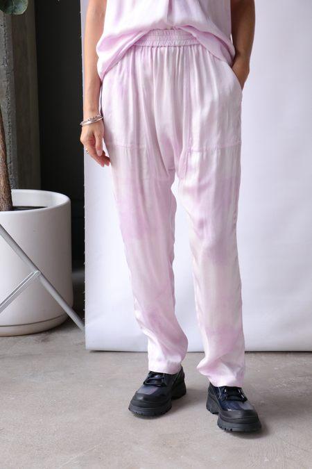 Raquel Allegra Sunday Pant - Lavender Cloudwash