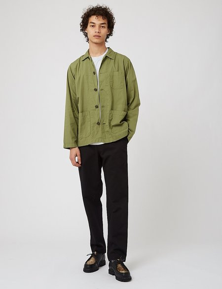 Universal Works Bakers Overshirt jacket - Olive