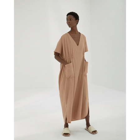 Monica Cordera Maxi Cotton Dress - Cork
