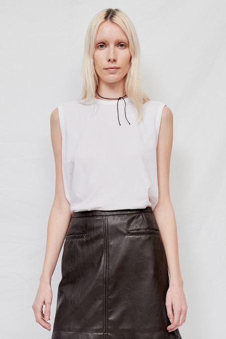 Gabriela Coll No.33 Sleeveless T-Shirt - White