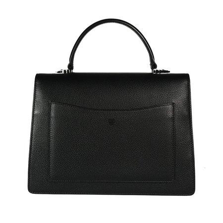 MCM PTRC PA SATCHEL MED BK, bag - black