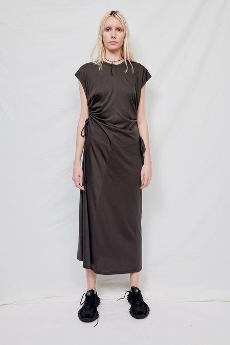 LVIR Jersey String Maxi Dress