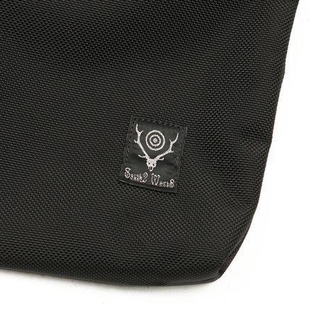 South2 West8 Ballistic Nylon Book Pack - Black
