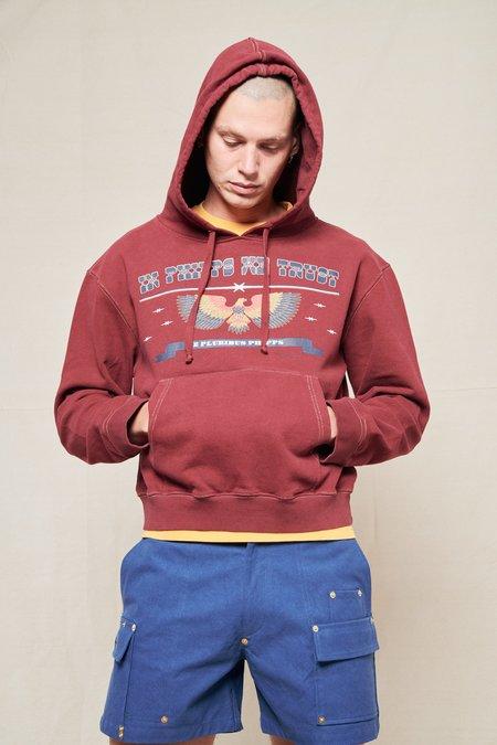 PHIPPS Patriot Hoodie sweater - CRIMSON