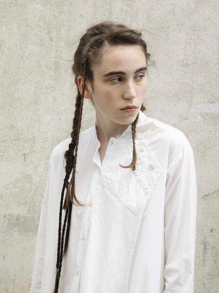 Serien°umerica Long Shirt Dress - White