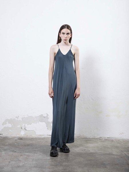 Serien°umerica Slip Dress - Petrolio