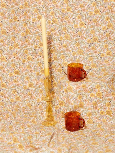 Aeyre Fisca Candlestick - Amber