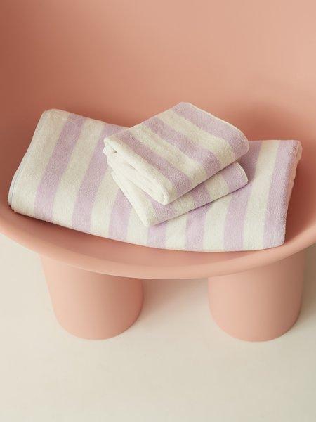 Aeyre Towel Set - Stripe Lilac