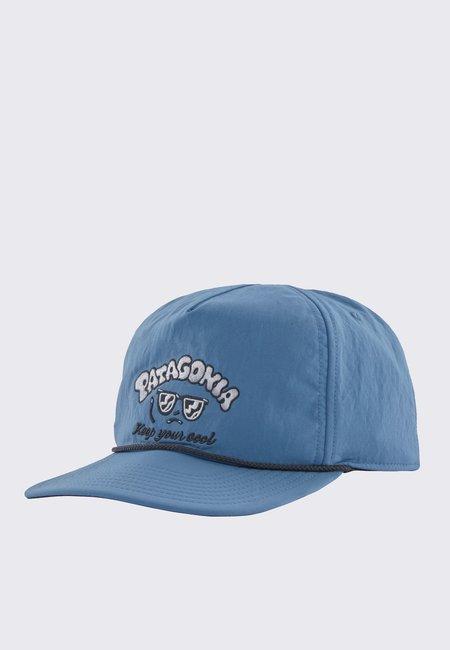 Patagonia Snowfarer Cap - Protect The Pillows/Pigeon Blue