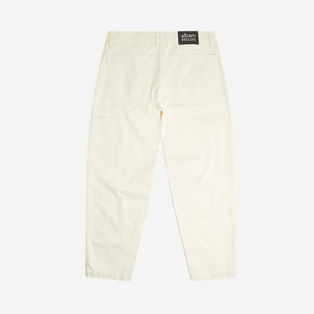 Albam Utility Slim Fit Work Trouser - Ecru